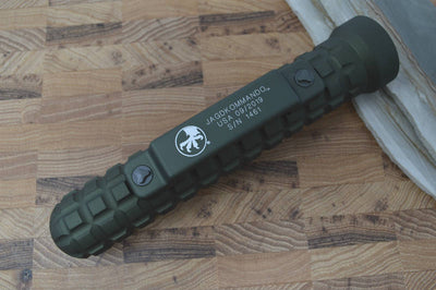 Microtech Jagdkommando - OD Green Handle and Blade 105-1GR - Northwest Knives
