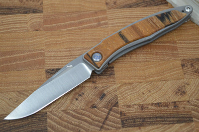 Chris Reeve Knives Mnandi Gentleman's Knife - Spalted Beech Wood Inlay