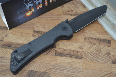Southern Grind Bad Monkey Emerson - Tanto Black Blade / CF Handle