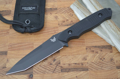 Benchmade 141BK Nimravus - Black Fixed Blade / Black Handle - Northwest Knives