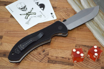 Emerson Knives Market Skinner w/ Wave Feature - Stonewash Blade
