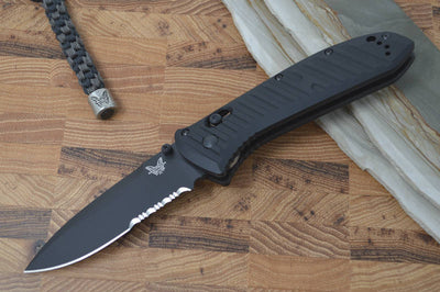 Benchmade 570SBK Presidio II Tactical Knife - Manual Folder