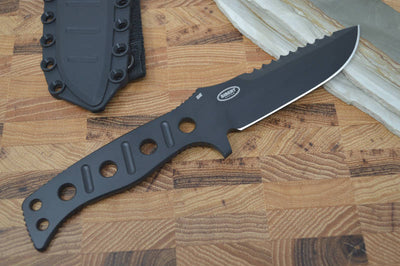 Benchmade 375BK Fixed Adamas - Fixed Black Blade / Black Handle