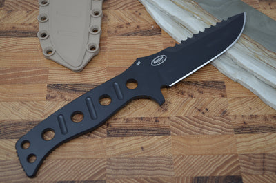Benchmade 375BKSN Fixed Adamas - Fixed Black Blade / Sand Sheath - Northwest Knives