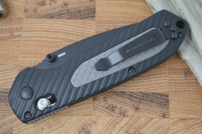 Benchmade 560SBK Freek - Black Blade & Gray/Black Polymer