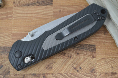 Benchmade 560 Freek - Black Blade & Gray/Black Polymer - Northwest Knives