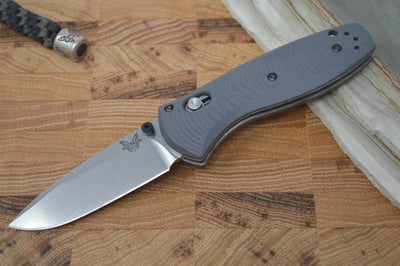 Benchmade 585-2 Mini-Barrage Assisted Open - Satin Blade / G-10 Handle