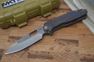 Medford Knife & Tool Infraction - Flamed Handle & Tumbled S35VN - Folder