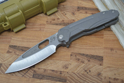 Medford Knife & Tool Infraction - Tumbled Handle & Tumbled S35VN Blade - Folder - Northwest Knives