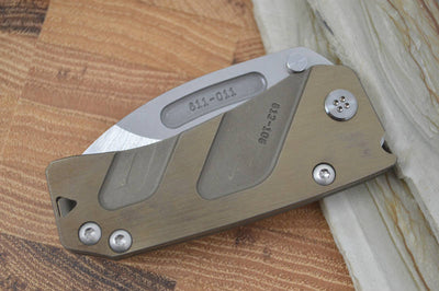 Medford Knife & Tool Hunden - Bronze Anodized Handle & S35VN Blade - Folder