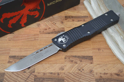 Microtech Combat Troodon OTF - Single Edge / Apocalyptic Blade - 143-10AP - Northwest Knives