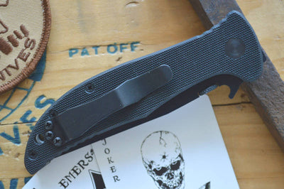 Emerson Knives Gentleman Jim w/ Wave - Black Blade GENJMBT - Manual Folder