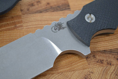 "Rick Hinderer Knives 7"" Fieldtac / Stonewash Blade / Black G10 Handle - Northwest Knives"