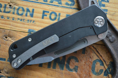 Medford Knife & Tool Proxima - PVD Titanium  - Manual Folder - Northwest Knives