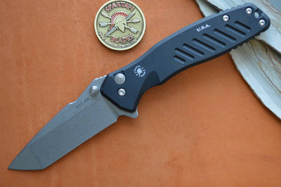Spartan Blades PALLAS Flipper - Tanto Point Blade - Northwest Knives
