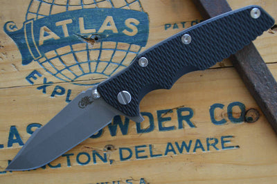 Rick Hinderer Eklipse Gen 2 - Harpoon Spanto - Working Finish - Black G10