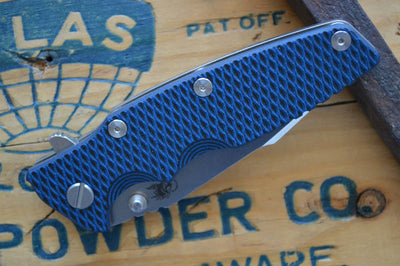 Rick Hinderer Knives Eklipse Gen 2 - Harpoon Spanto - Stonewash - Blue & Black G10 - Northwest Knives