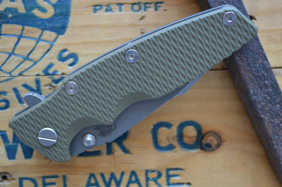 Rick Hinderer Knives Eklipse Gen 2 - Harpoon Spanto - Working Finish - OD Green G10 - Northwest Knives
