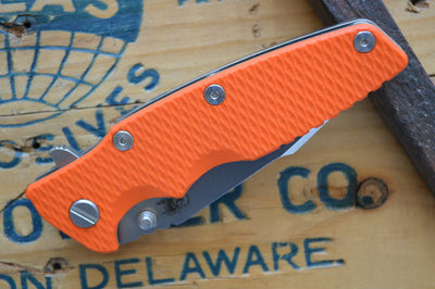 Rick Hinderer Knives Eklipse Gen 2 - Harpoon Spanto - Stonewash Finish - Orange G10 - Northwest Knives