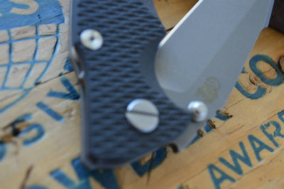 Rick Hinderer Knives Eklipse Gen 2 - Harpoon Spanto - Working Finish - Black G10