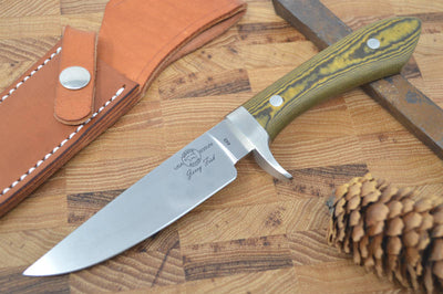 White River Knives Sendero Classic Hunter - Black & Maple Micarta Handle