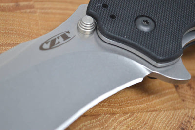 Zero Tolerance 0350SW Assisted Flipper - Stonewash Blade