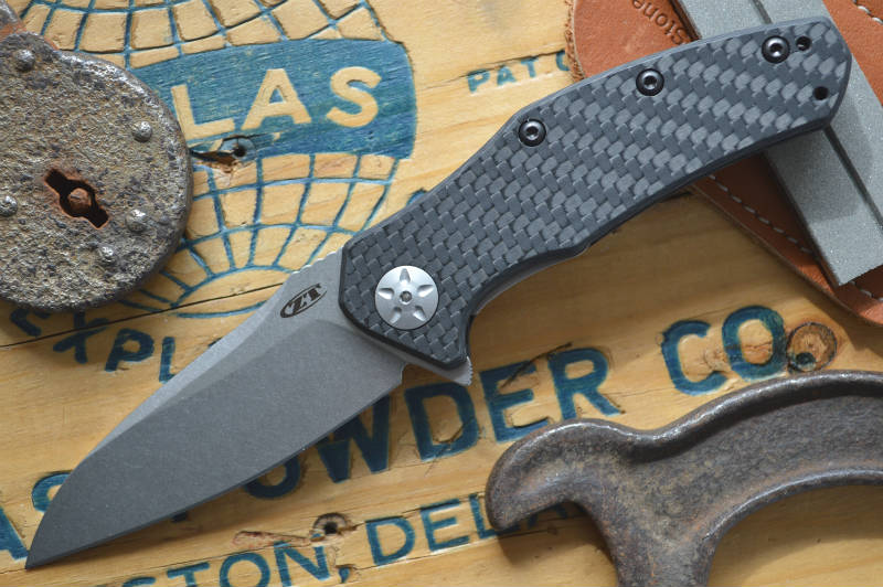 Zero Tolerance 0770CF Carbon Fiber Assisted Flipper