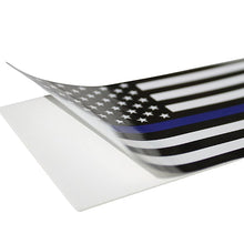 American Flag Blue Line Stickers
