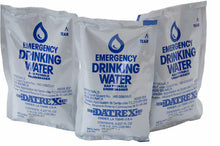 Three Emergency Drinking Water Pouches (125ML each)
