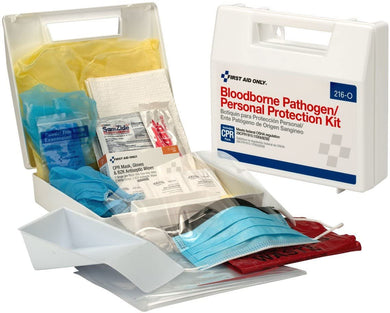 Bloodborne Pathogen / Personal Protection Kit w/CPR pack