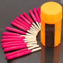 Portable Storm Wind Proof Matches Camping Hiking Hunting Gear Emergency Survival Tool