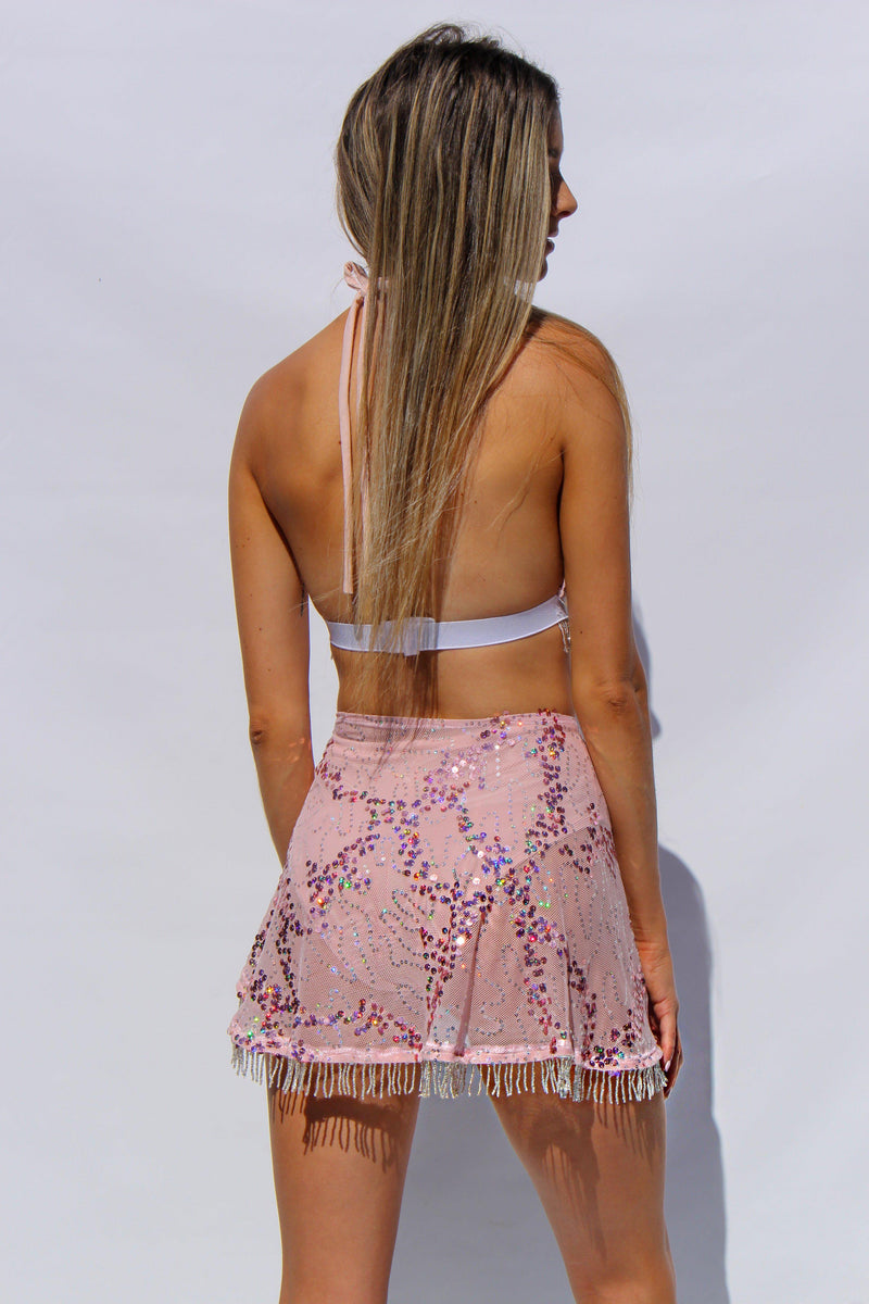 Baby Angel Wrap Skirt - Zalie Festival Wear