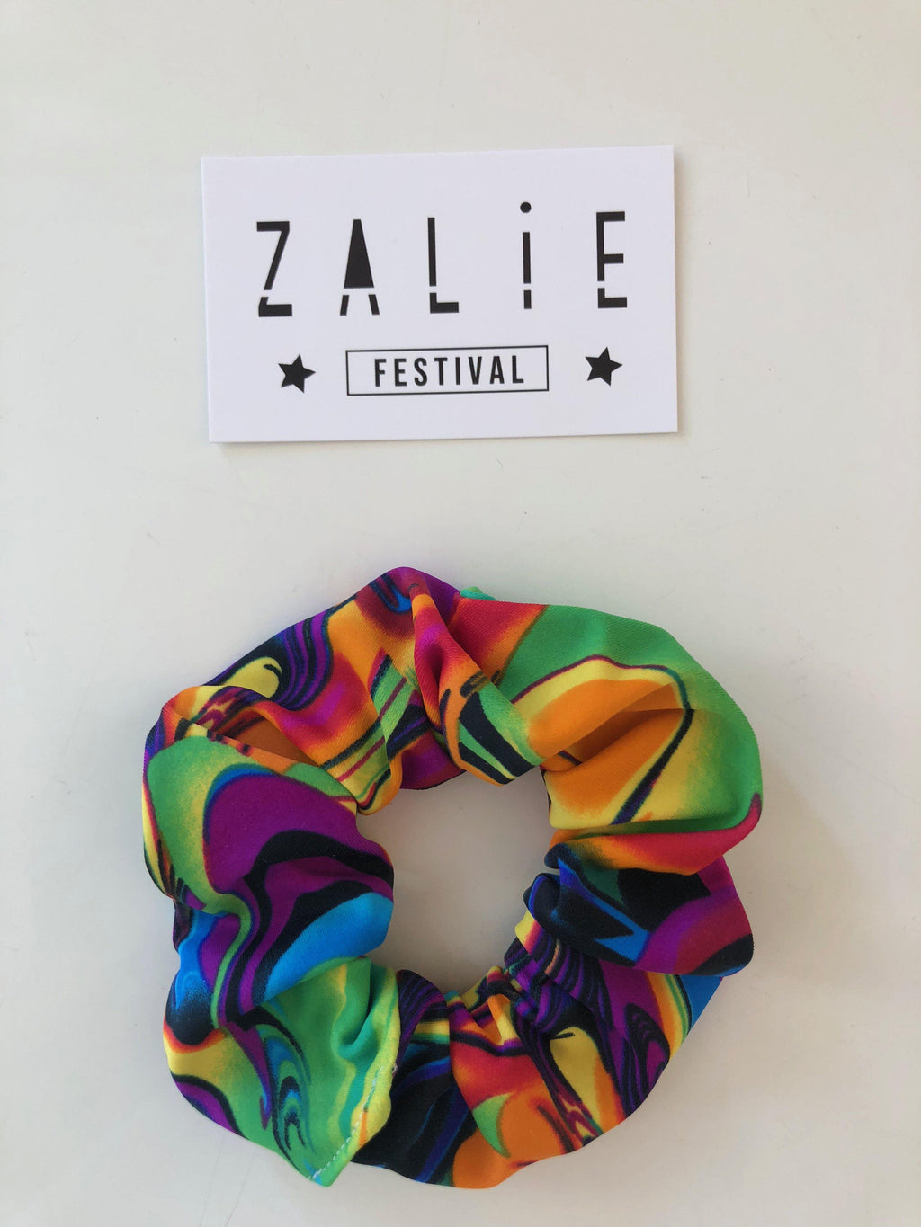 Paddle Pop Scrunchie - Zalie Festival Wear