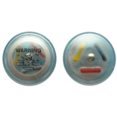 Designer Tamper Resistant Electronic Article Surveillance (EAS) security tag for the prevention of shoplifting by retailersDesigner Tamper Resistant Electronic Article Surveillance (EAS) RF 8.2MHz Clear Ink security tag for the prevention of shoplifting by retailers