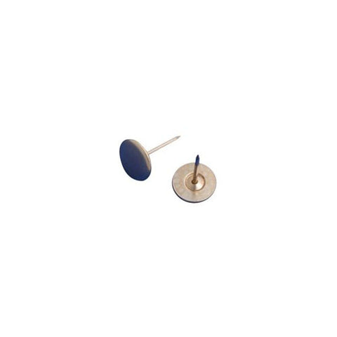 Flat head non-grooved Pin for use with security tags for the prevention of theft and shoplifting of clothes and other merchandise at retail stores
