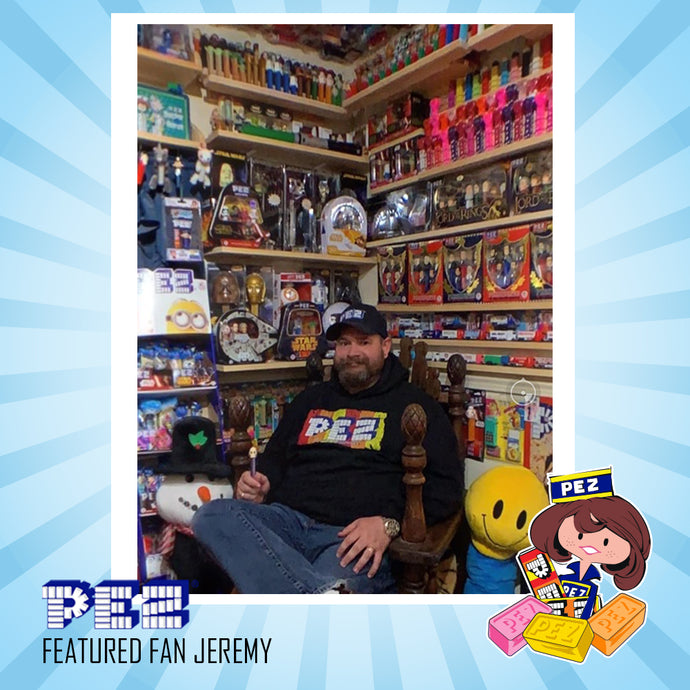 PEZ Featured Fan - Jeremy