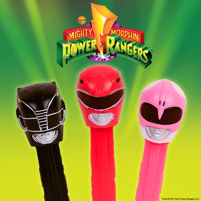 PEZ Candy, Inc. & Saban Brands Launch Power Rangers