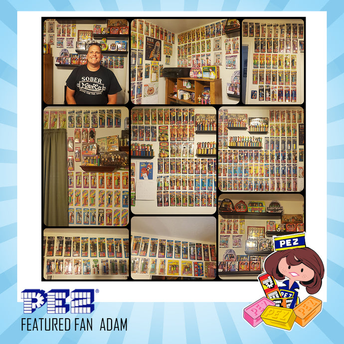 PEZ Featured Fan - Adam