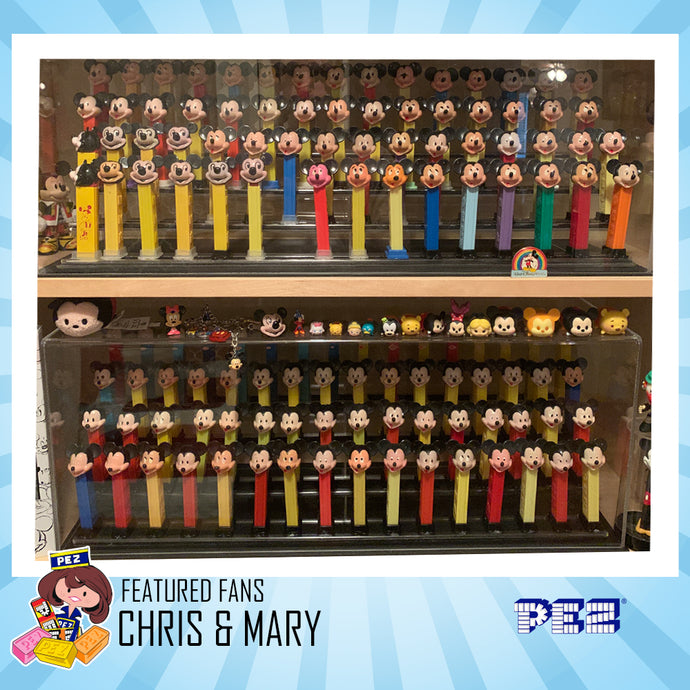 PEZ Featured Fans - Chris & Mary