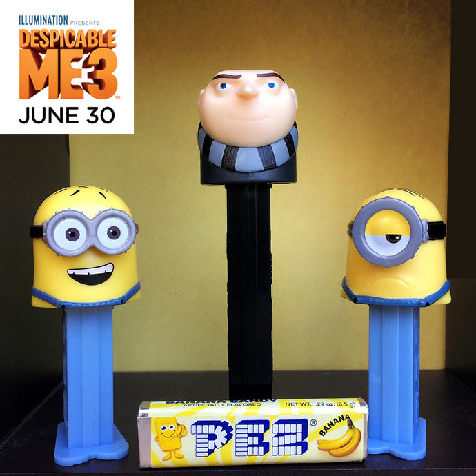 PEZ Candy, Inc. Debuts New Additions to its Illumination's Despicable Me Line