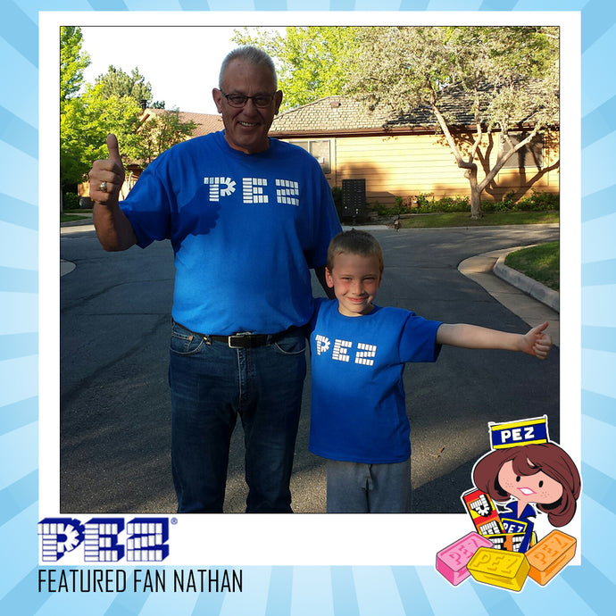 PEZ Featured Fan - Nathan