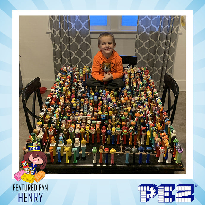 PEZ Featured Fan - Henry