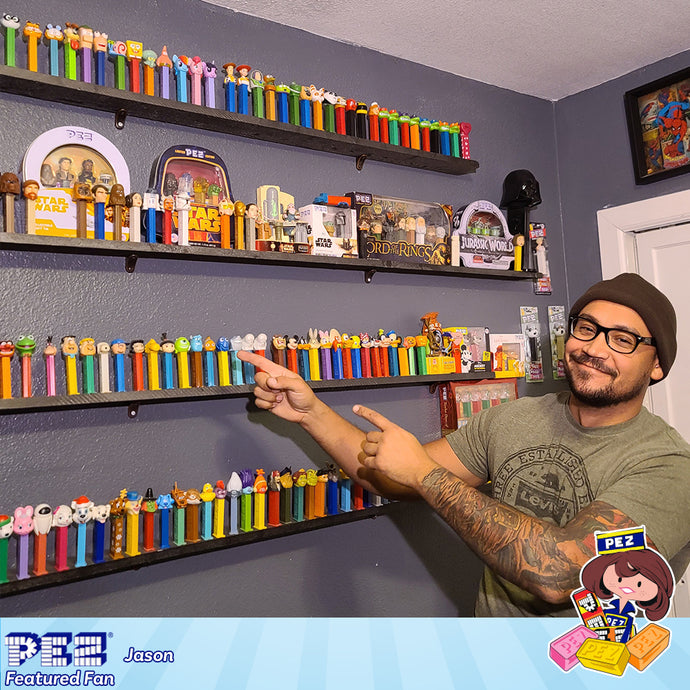 PEZ Featured Fan - Jason D