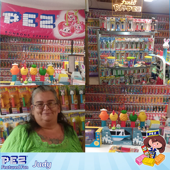 PEZ Featured Fan - Judy