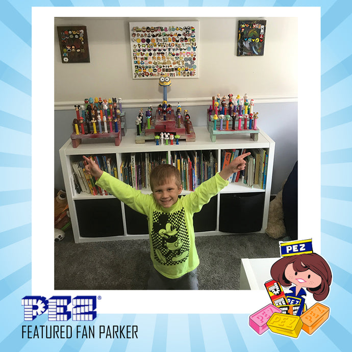 PEZ Featured Fan - Parker