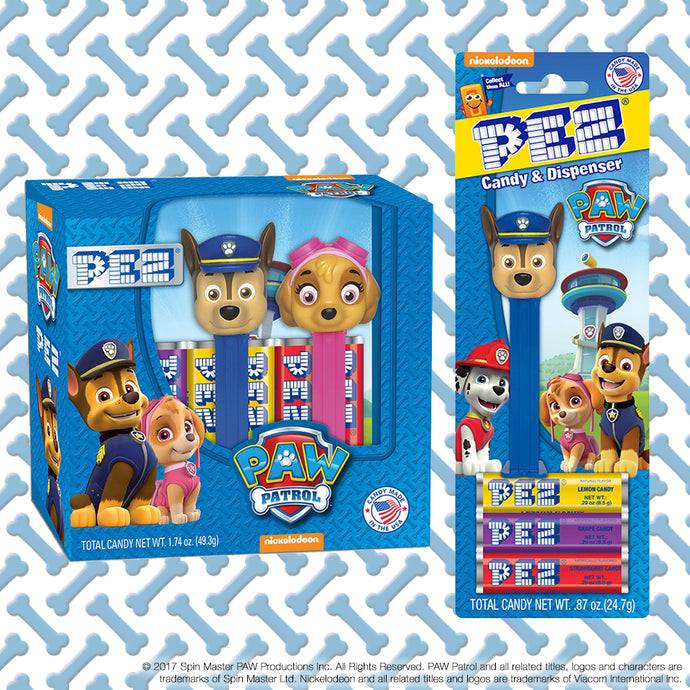 PEZ Candy, Inc. Partners with Nickelodeon to Launch All-New PAW Patrol Line