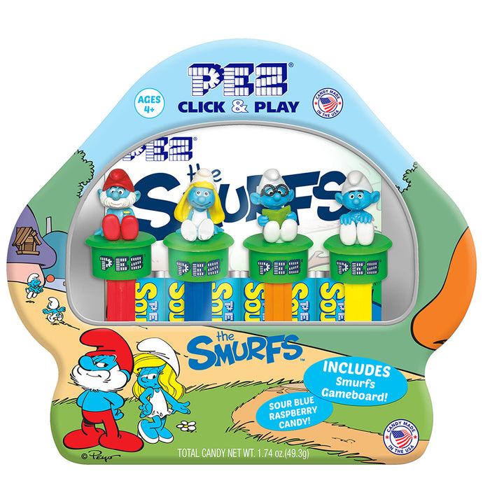 PEZ Candy, Inc. Partners with Sony Pictures Consumer Products to Launch Smurfs Line