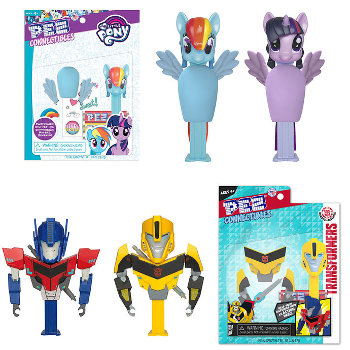 PEZ Candy, Inc. Teams Up with Hasbro for new PEZ Connectibles line