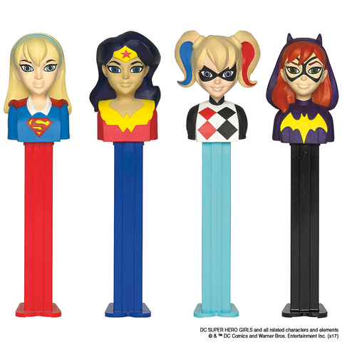 DC Super Hero Girls PEZ