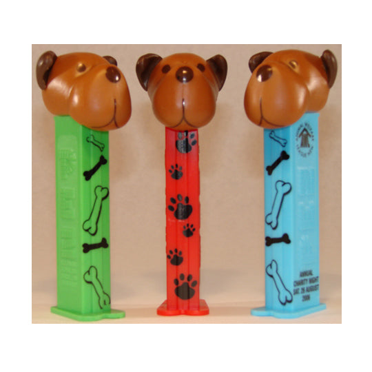 Barky Brown Printed Stem PEZ Dispenser